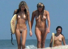 Nice voyeur shots from nudist beach